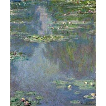 Cuadro -Nympheas- - Monet, Claude