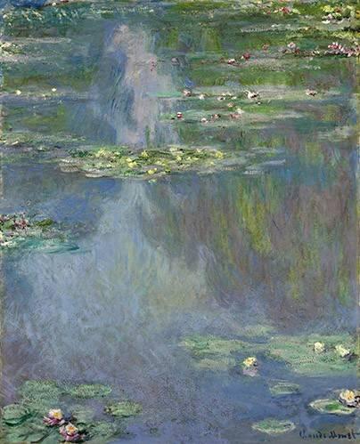 cuadros-de-paisajes - Cuadro -Nympheas- - Monet, Claude