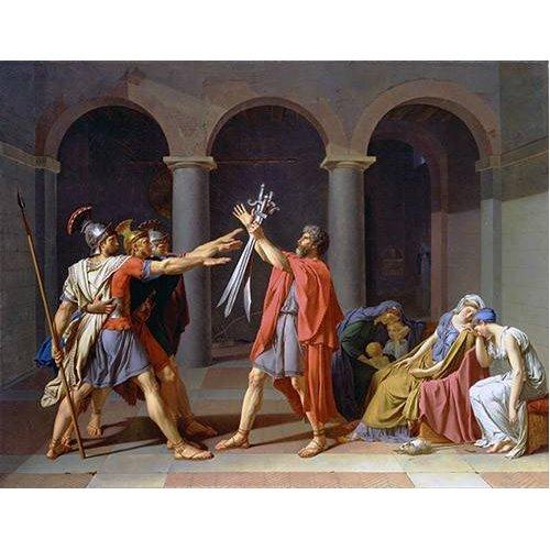Cuadro -El Juramento De Los Horacios-