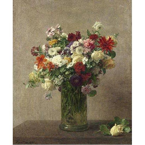 Cuadro -Flores en un jarron-