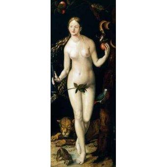 cuadros de retrato - Cuadro -Eva- - Dürer, Albrecht (Albert Durer)