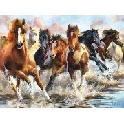 Cuadro -Moderno CM10750- (caballos)