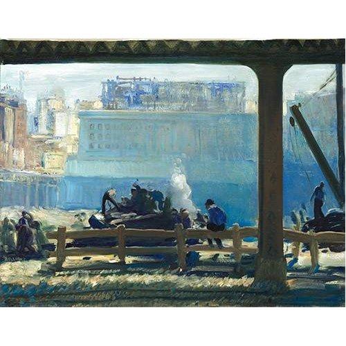 cuadros de paisajes - Cuadro -Blue Morning-