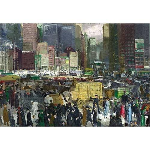 cuadros modernos - Cuadro -New York, 1911-