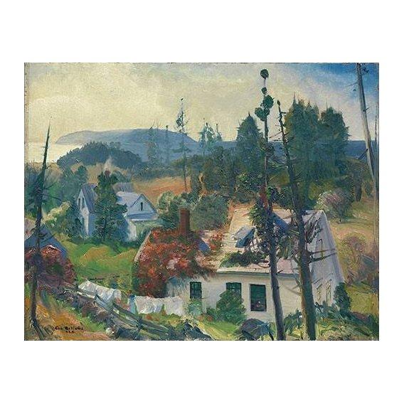 cuadros de paisajes - Cuadro -The Red Vine, Matinicus Island, Maine-