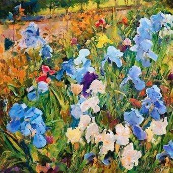 cuadros de flores - Cuadro -Moderno CM12200- - Medeiros, Celito