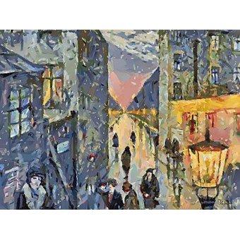 cuadros de paisajes - Cuadro -Moderno CM12579- - Medeiros, Celito
