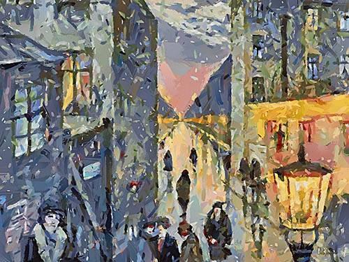 cuadros-modernos - Cuadro -Moderno CM12579- - Medeiros, Celito