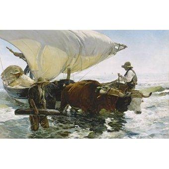 Cuadro -Vuelta de la pesca-