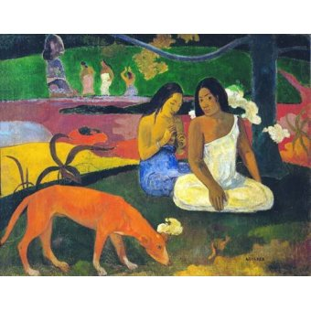cuadros de retrato - Cuadro -Arearea- - Gauguin, Paul