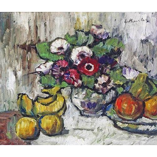 Cuadro -Still Life With Anemones-