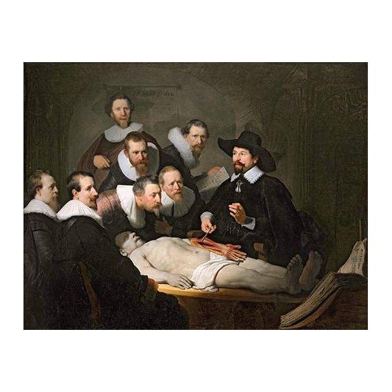 Cuadro -Lección de anatomia del prof. Nicolaes Tulp--