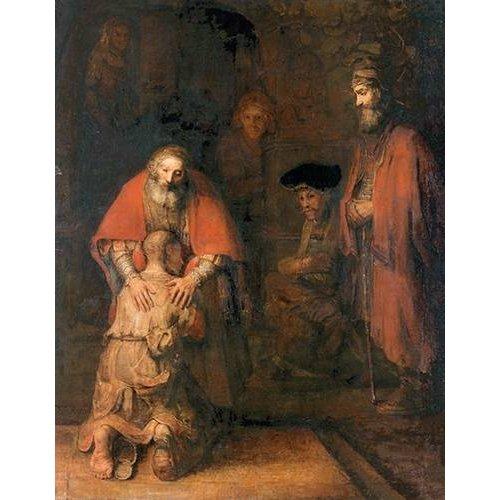 Cuadro -O retorno do filho pródigo-