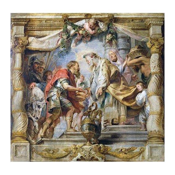 Cuadro -El encuentro de Abraham y Melquisedec-