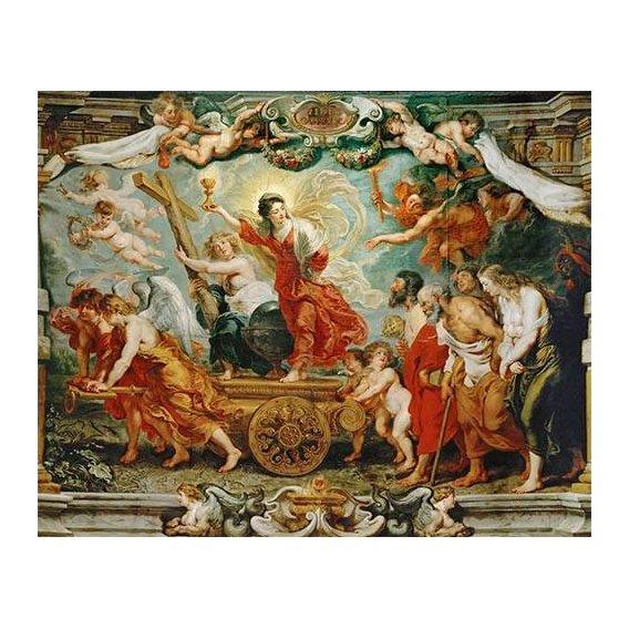 Cuadro -El triunfo de la fe-