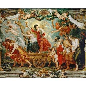 - Cuadro -El triunfo de la fe- - Rubens, Peter Paulus