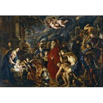 - Cuadro -La adoracion de los reyes magos- - Rubens, Peter Paulus