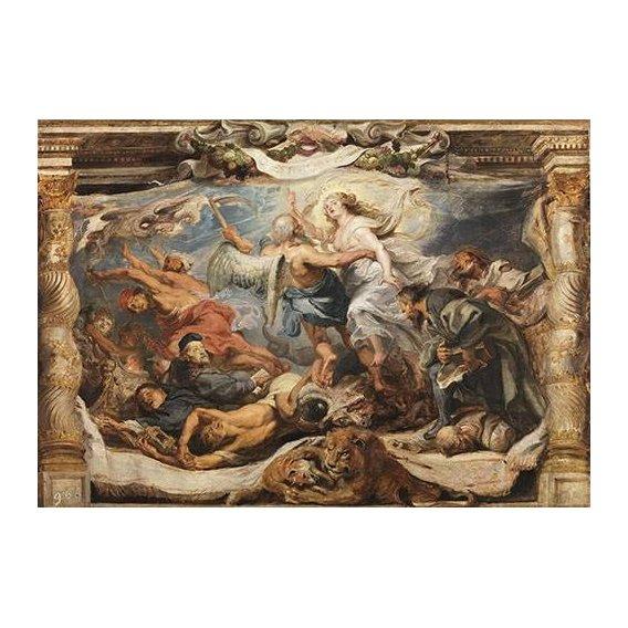 Cuadro -La victoria de la verdad sobre la herejia-