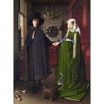 Cuadro -Retrato del matrimonio Arnolfini, 1434-
