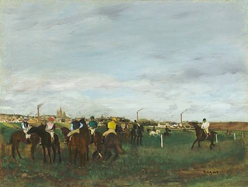 cuadros-de-fauna - Cuadro -The Races- - Degas, Edgar