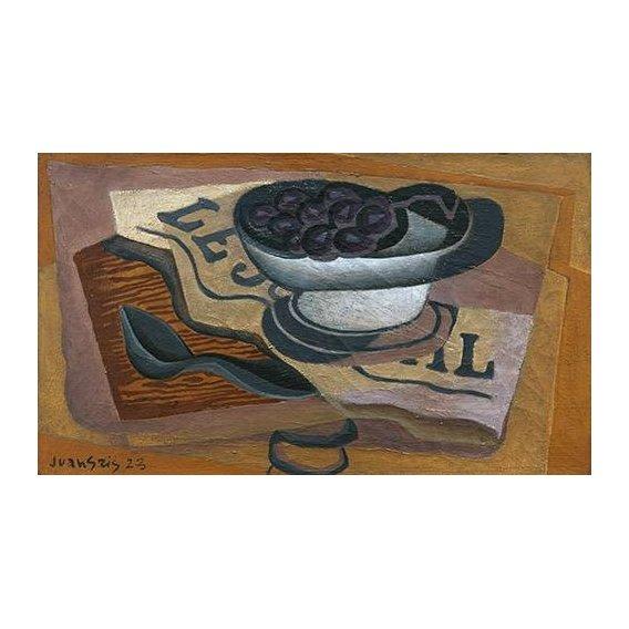 Cuadro -Uvas Negras, 1923-