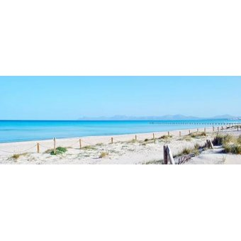 cuadros de fotografia - Cuadro -Baleares beach- - Naturaleza, Fotografia de