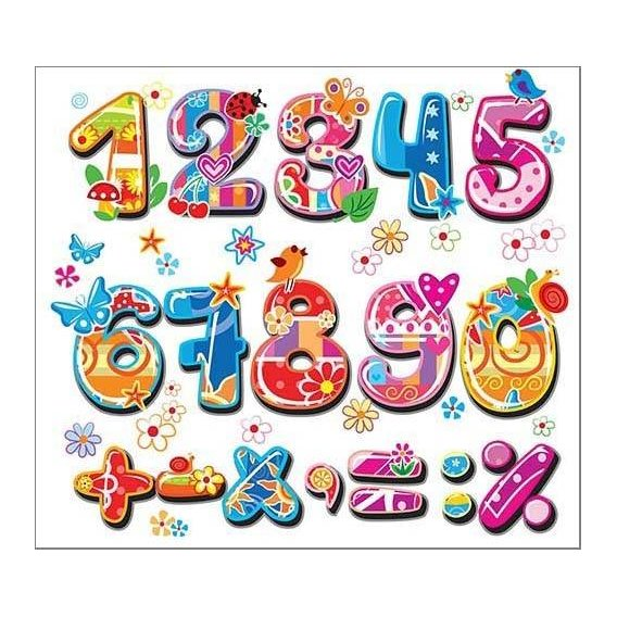 Cuadro -Numeros y signos-