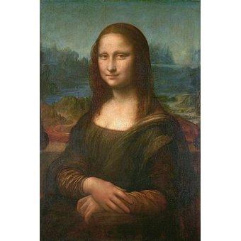 cuadros de retrato - Cuadro -La Gioconda- - Vinci, Leonardo da