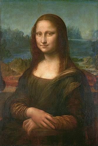 cuadros-de-retrato - Cuadro -La Gioconda- - Vinci, Leonardo da