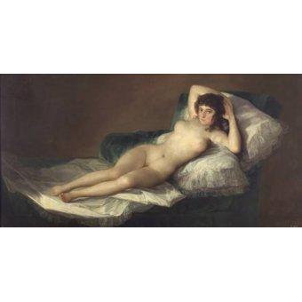 - Cuadro -La maja desnuda- - Goya y Lucientes, Francisco de