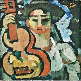 cuadros abstractos - Cuadro -Cavaquinho, 1914-15- - Souza-Cardoso, Amadeo de