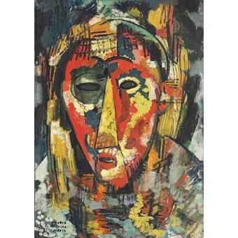 cuadros abstractos - Cuadro -Estudio B- - Souza-Cardoso, Amadeo de