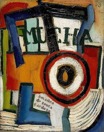 cuadros-abstractos - Cuadro -Mucha- - Souza-Cardoso, Amadeo de