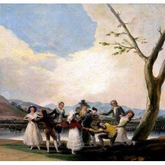 - Cuadro -La gallina ciega- - Goya y Lucientes, Francisco de