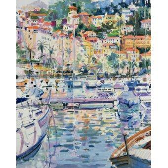 cuadros de marinas - Cuadro -Riviera Yacht, 1996 - - Graham, Peter