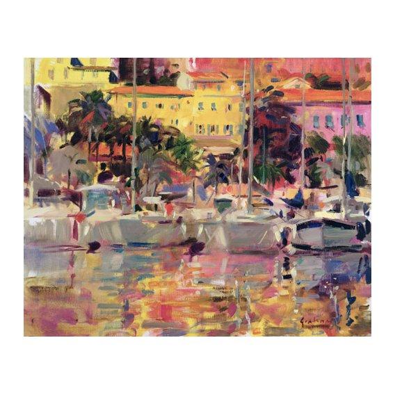 Cuadro -Golden Harbour Vista -