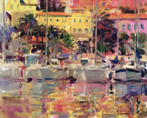 cuadros-modernos - Cuadro -Golden Harbour Vista - - Graham, Peter