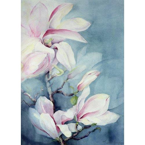 Cuadro -Magnolia Soulangeana (vertical)-