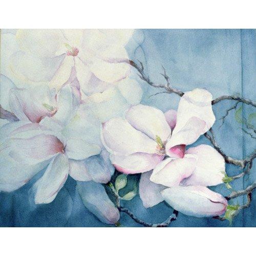 Cuadro -Magnolia Soulangeana (horizl)-