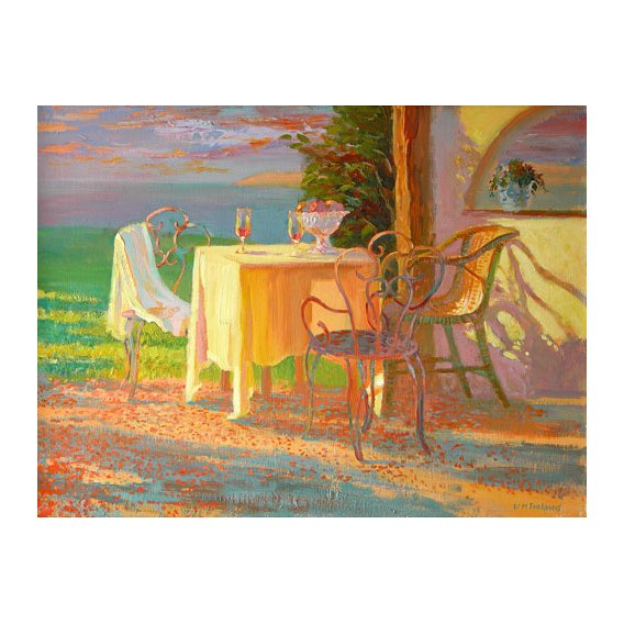 Cuadro -Evening Terrace, 2003-
