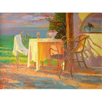 cuadros de bodegones - Cuadro -Evening Terrace, 2003- - Ireland, William