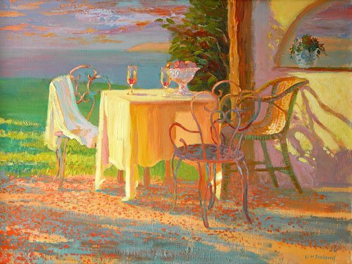cuadros-modernos - Cuadro -Evening Terrace, 2003- - Ireland, William
