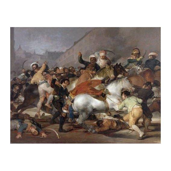 cuadros de retrato - Cuadro -El 2 de mayo de 1808, la carga de los Mamelucos-