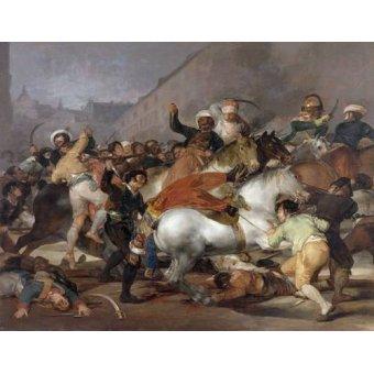 - Cuadro -El 2 de mayo de 1808, la carga de los Mamelucos- - Goya y Lucientes, Francisco de