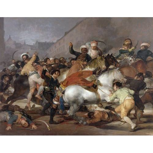 Cuadro -El 2 de mayo de 1808, la carga de los Mamelucos-