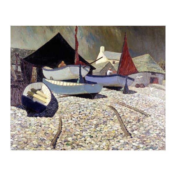 Cuadro -Cadgwith, the Lizard (oil on canvas)-