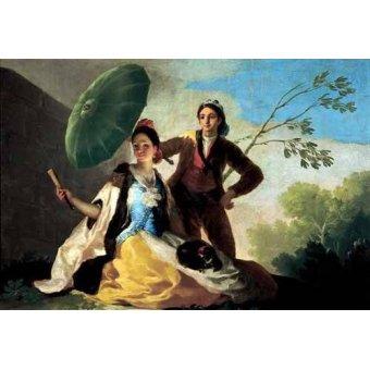 cuadros de retrato - Cuadro -El quitasol, 1777- - Goya y Lucientes, Francisco de