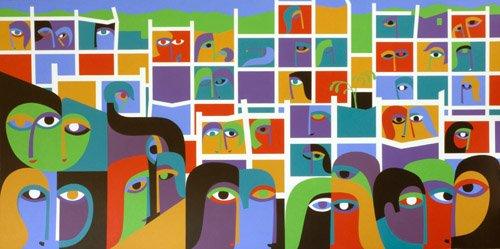 cuadros-abstractos - Cuadro -Desolation and Regeneration, 1987- - Waddams, Ron