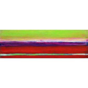 cuadros abstractos - Cuadro -Zanja, 2000- - Gibbs, Lou