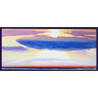 cuadros abstractos - Cuadro -Skyscape (mixed media)- - Gibbs, Lou